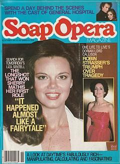 Soap Opera Magazine November 1981