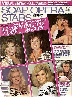 Soap Opera Stars November 1986