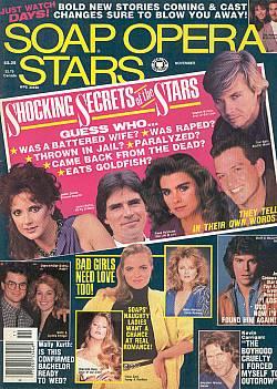 Soap Opera Stars  November 1989
