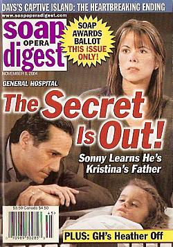 Soap Opera Digest Nov. 9, 2004