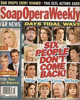 Soap Opera Weekly November 9, 2004