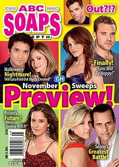 ABC Soaps In Depth Nov. 9, 2015