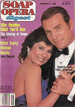 November 9, 1982 issue of Soap Opera Digest