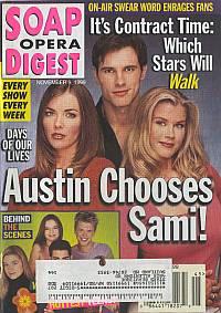 Soap Opera Digest - November 9, 1999