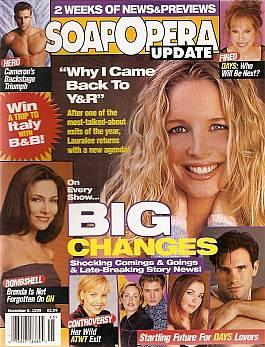 Soap Opera Update November 9, 1999