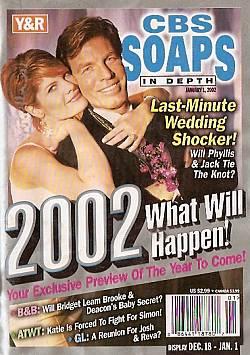 CBS Soaps In Depth January 1, 2002