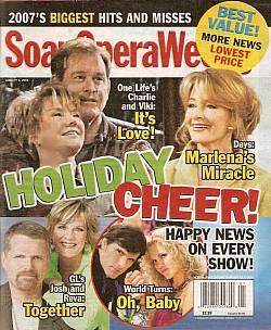 Soap Opera Weekly Jan. 1, 2008