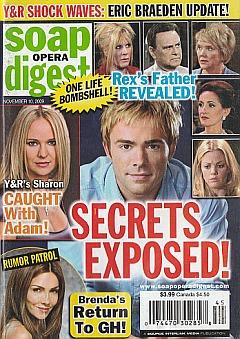 Soap Opera Digest November 10, 2009