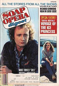 November 10, 1981 issue of Soap Opera Digest