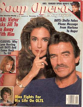 Soap Opera Magazine Nov. 10, 1992