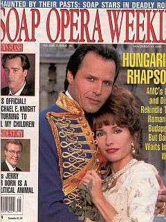 Soap Opera Weekly November 10, 1992