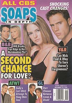 CBS Soaps In Depth November 10, 1998