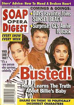Soap Opera Digest - November 10, 1998