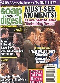 Soap Opera Digest Nov. 11, 2003
