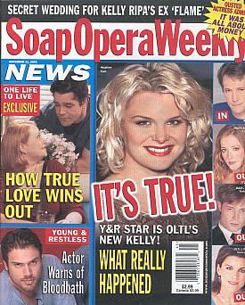 Soap Opera Weekly November 11, 2003
