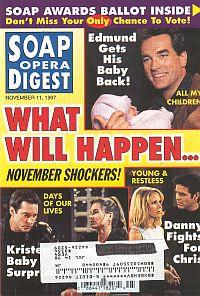 Soap Opera Digest - November 11, 1997
