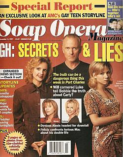November 11, 1997 issue of Soap Opera Magazine