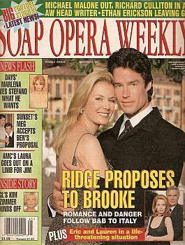 Soap Opera Weekly November 11, 1997