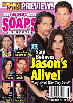November 12, 2012 issue of ABC Soaps In Depth soap opera magazine