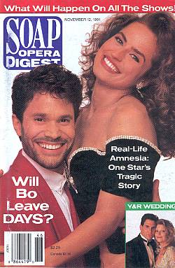 Soap Opera Digest November 12, 1991