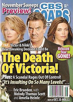 CBS Soaps In Depth November 13, 2007