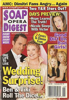 Soap Opera Digest - November 14, 2000
