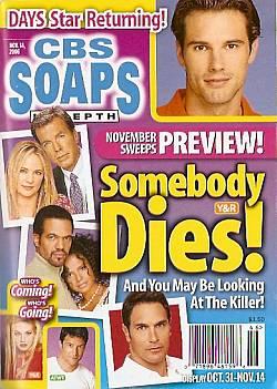 CBS Soaps In Depth November 14, 2006