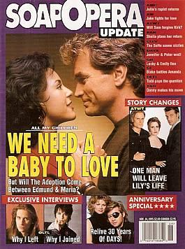 Soap Opera Update November 14, 1995
