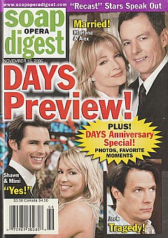 Soap Opera Digest Nov. 15, 2005