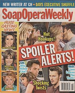 Soap Opera Weekly - November 15, 2011