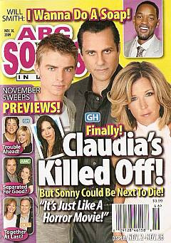 ABC Soaps In Depth November 16, 2009