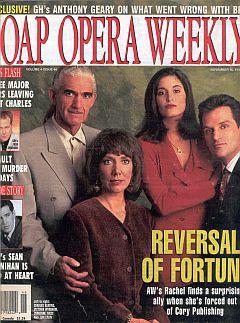 Soap Opera Weekly November 16, 1993