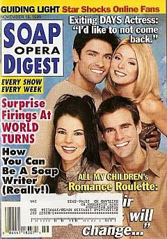 Soap Opera Digest - November 16, 1999