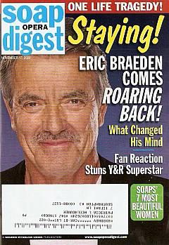 Soap Opera Digest November 17, 2009