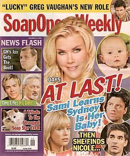 Soap Opera Weekly Nov. 17, 2009
