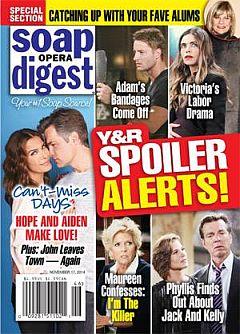 Soap Opera Digest Nov. 17, 2014