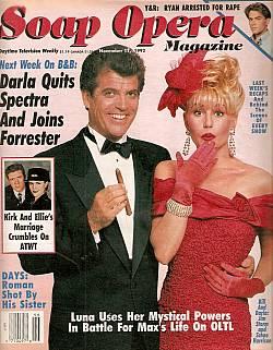 Soap Opera Magazine Nov. 17, 1992