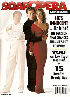 November 17, 1992 issue of Soap Opera Update magazine