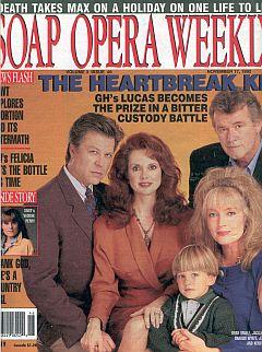 Soap Opera Weekly November 17, 1992