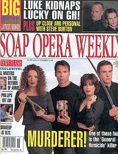 Soap Opera Weekly November 17, 1998