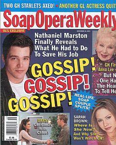 Soap Opera Weekly November 18, 2003