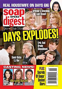 Soap Opera Digest Nov. 18, 2013