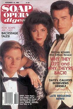November 18, 1986 Soap Opera Digest