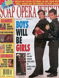 Soap Opera Weekly November 18, 1997