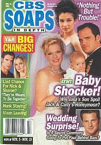 CBS Soaps In Depth November 19, 2002