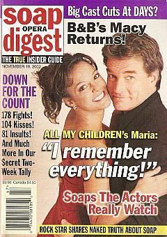 Soap Opera Digest Nov. 19, 2002