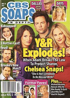 November 19, 2012 issue of CBS Soaps In Depth soap opera magazine