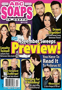 ABC Soaps In Depth Nov. 19, 2018
