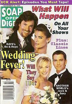 Soap Opera Digest - November 19, 1996
