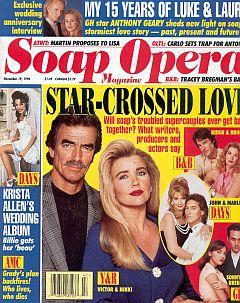 Soap Opera Magazine November 19, 1996